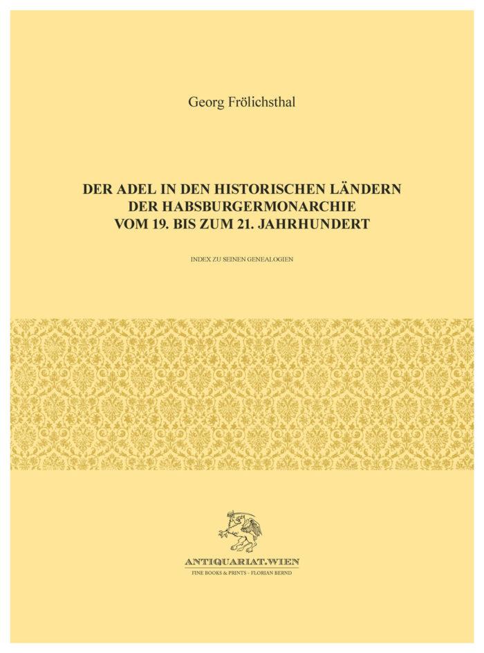 DER ADEL IN DEN HISTORISCHEN LÄNDERN
